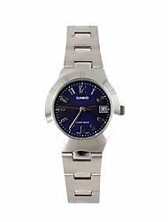 baratos -Mulheres Relógio de Pulso Relógio Casual / / Aço Inoxidável Banda Casual / Fashion / Relógio Elegante Prata