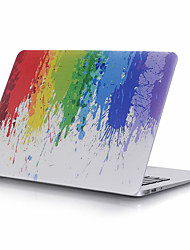 "Case for Macbook 13"" Macbook Air 11""/13"" Macbook Pro 13""/15"" MacBook Pro 13""/15"" with Retina display Oil Painting Plastic Material Colorful Pattern"