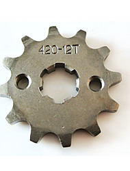cheap -Lifan Engine 420-17MM-12T Tooth Mini Motor Quad Dirt Bike ATV Sprocket Set