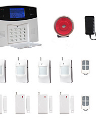 LCD Wirless GSM/PSTN Home House Office Security Burglar Intruder Alarm System