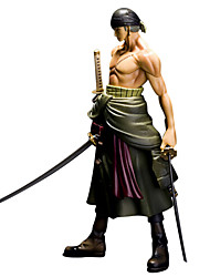 cheap -Anime Action Figures Inspired by One Piece Roronoa Zoro PVC 25 CM Model Toys Doll Toy