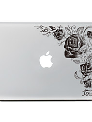 economico -1 pezzo Anti-graffi Fiore decorativo Di plastica trasparente Decalcomanie A fantasia PerMacBook Pro 15'' with Retina MacBook Pro 15 ''