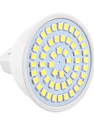 economico -GU5.3(MR16) Faretti LED MR16 54 leds SMD 2835 Decorativo Bianco caldo Luce fredda 400-500lm 2800-3200/6000-6500K 9-30V