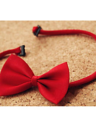 Boys Ties & BowsSummer / Winter / All Seasons Organic Cotton Black / Red