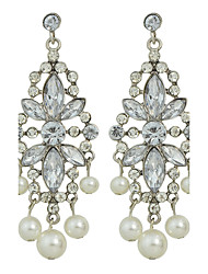 cheap -Women's Drop Earrings - Fashion White Flower Earrings For Party Daily Casual