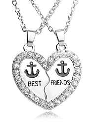 Men's Women's Pendant Necklaces Pendants Necklace Jewelry Anchor Alloy Friendship Cross Inspirational Magnetic Therapy Religious Jewelry