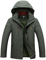 Hiking Softshell Jacket Men's Waterproof / Breathable / Quick Dry / Windproof / Wearable / Ultra Light Fabric /