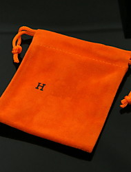 cheap -1pc Fabric Black 10*10 Gift bags
