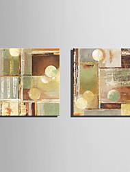 baratos -Estampado Laminado Impressão De Canvas - Abstrato Clássico