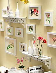 cheap -Modern / Contemporary Wood Painting Picture Frames, 10pcs