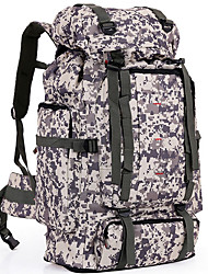 cheap -FENGTU® Outdoor Camouflage Backpack 80L Nylon Sports Bag Men And Women Backpack Hiking Camping Backpacks