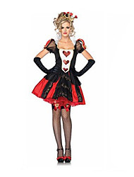 billige -Prinsesse / Eventyr / Queen Cosplay Kostumer / Festkostume / Maskerade Dame Halloween Festival / Højtider Halloween Kostumer Patchwork