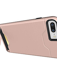 Per iPhone X iPhone 8 iPhone 7 iPhone 7 Plus iPhone 6 Custodie cover Porta-carte di credito Resistente agli urti Con supporto Custodia