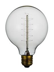 e27 40w g80 em torno do fio americano edison restaurante retro bola lâmpadas decorativas
