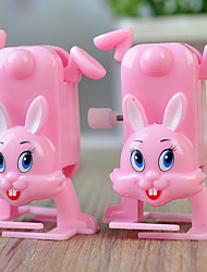 abordables -Juguete de Cuerda Juguetes Novedades Rabbit 1 Piezas Regalo
