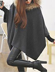 baratos -w.z.j elegante da moda de inverno casacos de senhora