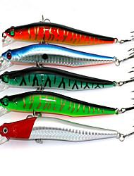 """5 pc Esca Esche rigide Pesciolini g/Oncia,120 mm/4-3/4"""" pollice,Plastica duraPesca di mare Pesca a mulinello Pesca con esca Lenze"""