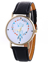 cheap -Women's Quartz Wrist Watch / Hot Sale PU Band Bohemian Dress Watch Fashion Black White Blue Red Brown Green Ivory Rose Gold