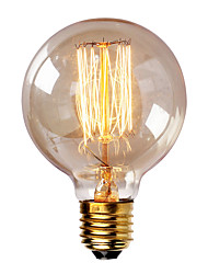 cheap -1pc 40W E26 / E27 G80 Warm White 2300k Retro Dimmable Decorative Incandescent Vintage Edison Light Bulb 220-240V