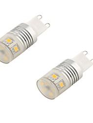 cheap -G9 LED Bi-pin Lights T 11 SMD 2835 11 lm Cold White 6000K Decorative AC 110-130 AC 85-265 AC 220-240 AC 100-240V