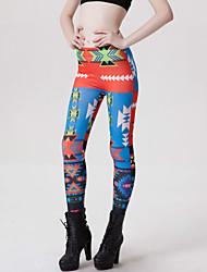 Недорогие -женская новая мода, бесшовная цифровая печать, триггер, полиэстер