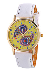 cheap -Ladies Fashion Girl Quartz Watch Clock Women Leather Casual Dress Women's Flower Wristwatch Cool Watches Unique Watches