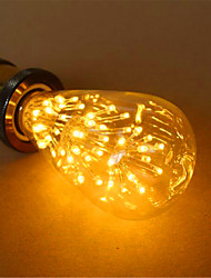 cheap -E26/E27 LED Globe Bulbs ST64 54 Dip LED 800 lm Warm White 2300 K Decorative AC 220-240 V