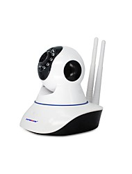 Strongshine® 720P Max SD/TF Card Support 64GB IR-cut Day Night P2P Wireless PTZ Indoor IP WiFI Camera