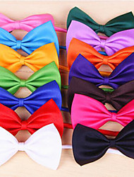 cheap -Cat Dog Tie/Bow Tie Dog Clothes Cosplay Birthday Holiday Wedding Christmas Bowknot Rose Red Green Pink Light Blue Costume For Pets