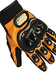 BIKER MCS-01C PRO Orange Motorcycle Gloves Cycling Comfort Breathable Mesh Gloves