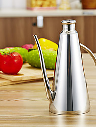 Недорогие -прозрачный бытовой кухонный масляный бак соевый соус горшок 1шт герметичными стекло