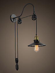 cheap -Tray 1-Light Adjustable Swan-neck Industrial Wall Light &Saucer Shade Chandelier