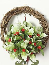 Hi-Q 1Pc Decorative Flower Christmas Leaves Wedding Home Table Decoration Artificial Flowers