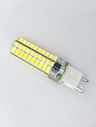 cheap -4W G9 LED Corn Lights T 80LED SMD 5730 400-450 lm Warm White Cold White K Decorative AC 220-240 AC 110-130 V