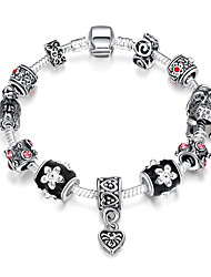 cheap -Women's Strand Bracelet Folk Style Fashion European Beaded Synthetic Gemstones Sterling Silver Silver Plated Alloy Geometric Jewelry