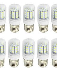 abordables -2W E26/E27 Ampoules Maïs LED T 27 SMD 5730 150-200 lm Blanc Chaud Blanc Froid K Décorative AC 85-265 9-30 V