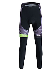 Miloto Cycling Tights Men's Bike Tracksuit Tights Bottoms Fleece Bike Wear Thermal / Warm Quick Dry Windproof Fleece Lining High