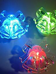 economico -acrilico shinning colorato campana una luce notturna flash piccola luce notturna un regalo di compleanno luce colorata