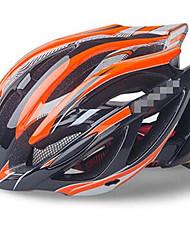 economico -Casco da bici Ciclismo 21 Prese d'aria Regolabili Montagna Ultra leggero (UL) Sportivo Junior Materiale antistrappo Rete Ciclismo da