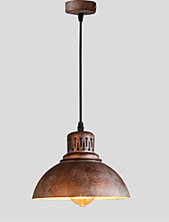 cheap -21cm Max 60W Vintage Simple Loft mini Pendant Lights Metal Dining Room Kitchen Bar Cafe Hallway Balcony Light Fixture