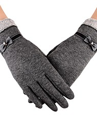 cheap -Sports Gloves Touch Gloves Keep Warm Anti-skidding High Elasticity Protective Limits Bacteria Full-finger Gloves Spandex Synthetic