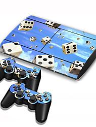 abordables -B-SKIN B-SKIN USB Adhesivo Para Sony PS3 ,  Novedades Adhesivo Vinilo 1 pcs unidad