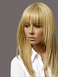 cheap -Enchanting  Ethereal Bangs Long Hair Woman Hair Human Hair Wig
