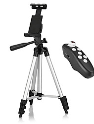 Tripod Bluetooth with Remote Control for iPhone / Android Smartphone / Tablet / iPad, Use for Video Recording, Pictures, or Live Streaming