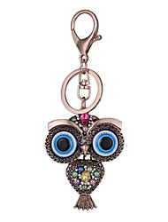 cheap -Europe And The United States New Realistic Key Chain Owl Key Chain Bag Car Key Pendant Valentine's Day Gift Factory Direct Sales