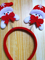 cheap -Christmas Decoration Items Christmas Light Head Band Hairpin Design Is Random