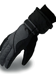 cheap -Ski Gloves Men's Keep Warm PU Ski / Snowboard Motorbike Winter