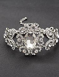 cheap -Women's Chain Bracelet Bridal Rhinestone Jewelry Wedding Party Engagement Costume Jewelry