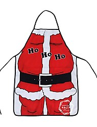 cheap -Christmas Decoration Santa Claus Apron Whimsy Novelty Gift For Kitchen Apron Santa Sacks Navidad Natal