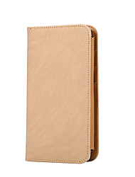 cheap -For Mobile Phone Universal under 5.5 Inches Card Holder Wallet Flip Case Full Body Case Solid Color Hard PU Leather Universal Other